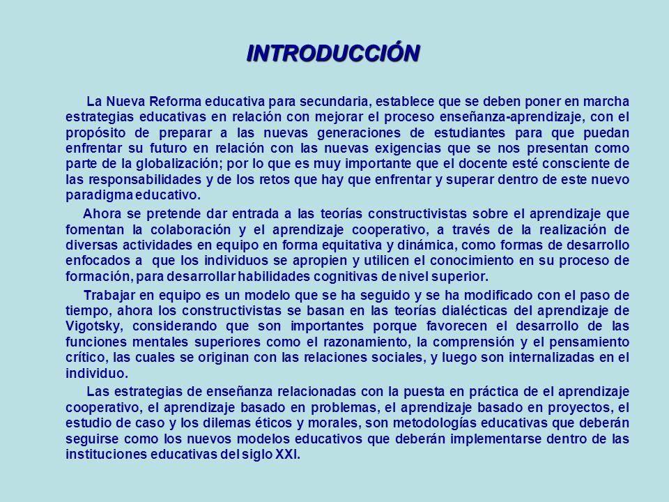 ÍNDICE 1. INTRODUCCIÓN 2. CARTOGRAFÍA CONCEPTUAL DEL APRENDIZAJE COOPERATIVO 3. CARTOGRAFÍA CONCEPTUAL DEL APRENDIZAJE BASADO EN PROBLEMAS 4. CARTOGRA