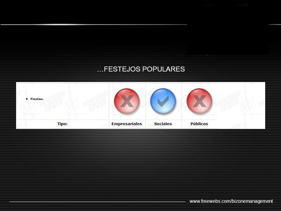 …FESTEJOS POPULARES