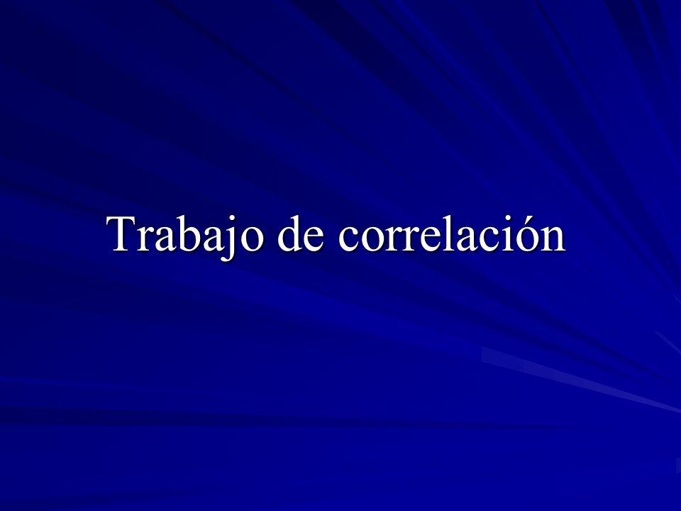 Coeficiente de correlación Calculamos primero la varianza de la variable y para posteriormente obtener su desviación típica: Obtenemos el coeficiente de correlación: