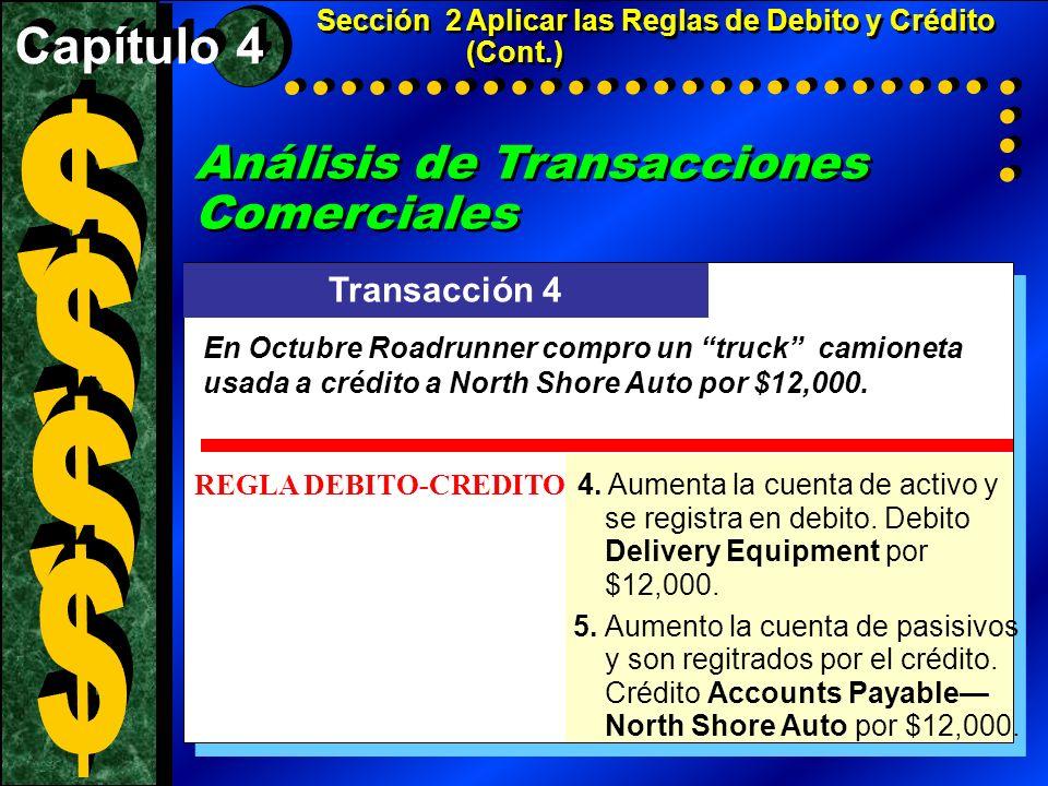 Análisis de Transacciones Comerciales Business Transaction Analysis (cont.) Análisis de Transacciones Comerciales Business Transaction Analysis (cont.