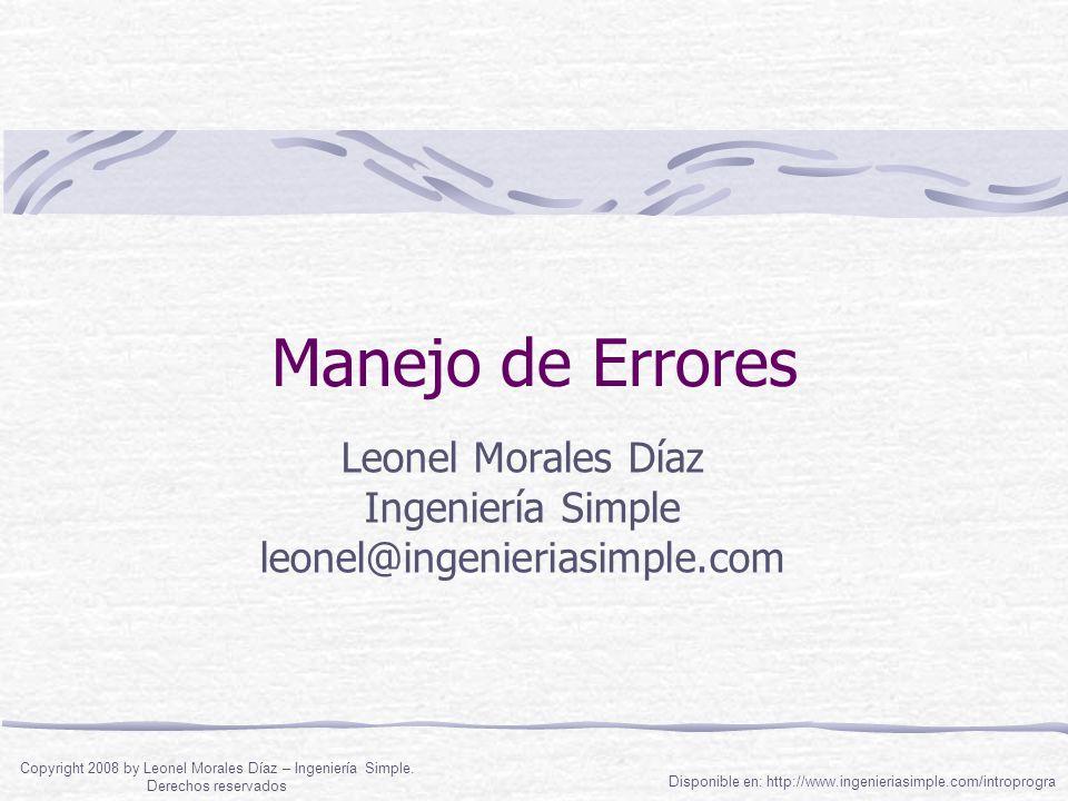 Errores de Léxico Uso de un símbolo no definido Uso de símbolos que no son del lenguaje Ejemplo: Dima UnStr UnStr -- Guatemala For i = * To 40j