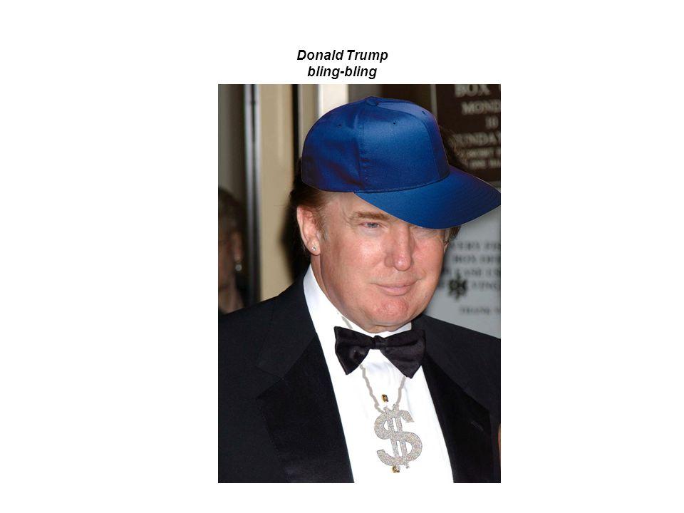 Donald Trump bling-bling