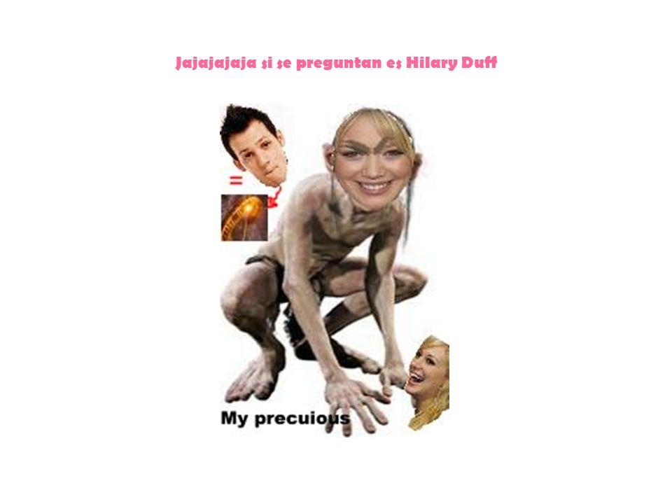 Jajajajaja si se preguntan es Hilary Duff