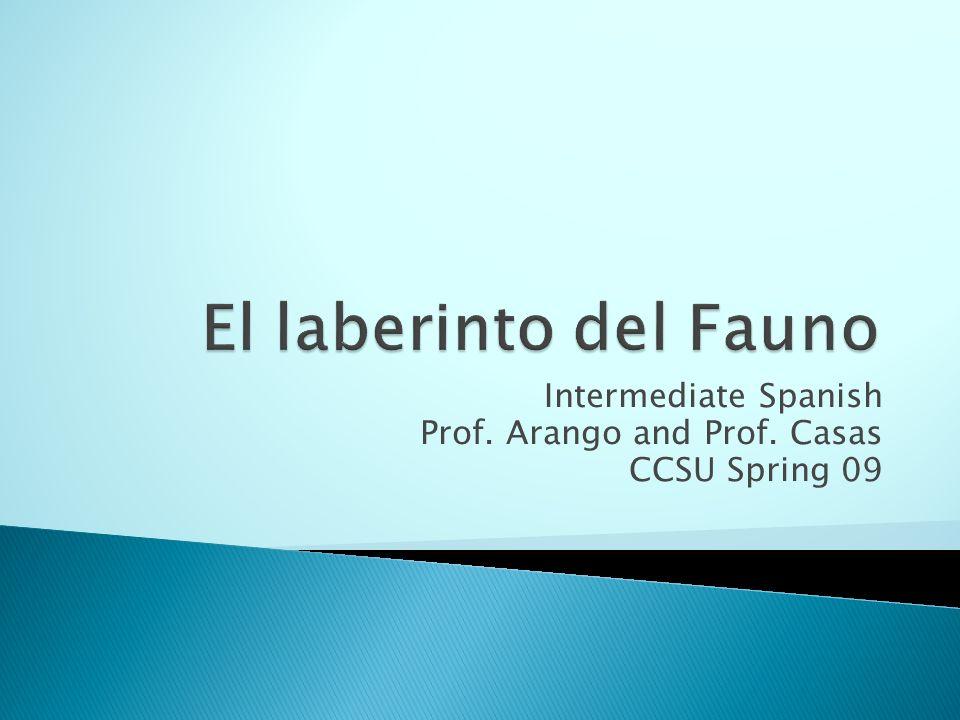 Intermediate Spanish Prof. Arango and Prof. Casas CCSU Spring 09