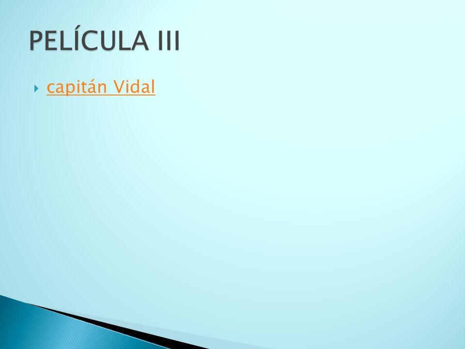capitán Vidal