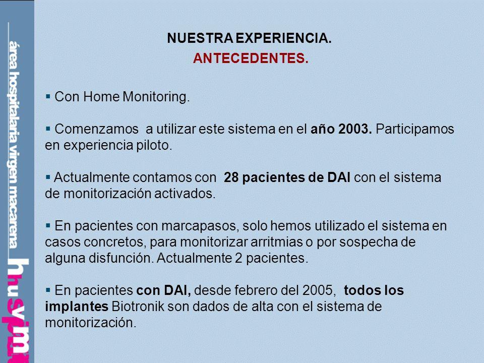 REVISIÓN / OBJETIVOS: VALORAR LA EFECTIVIDAD DE LA INFORMACIÓN DADA POR ENFERMERÍA, PARA EL BUEN USO DEL SISTEMA.