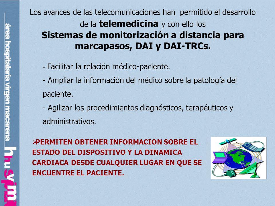 Home Monitoring. (Biotronik) SISTEMAS DE SEGUIMIENTO A DISTANCIA /presente: CareLink. (Medtronic)
