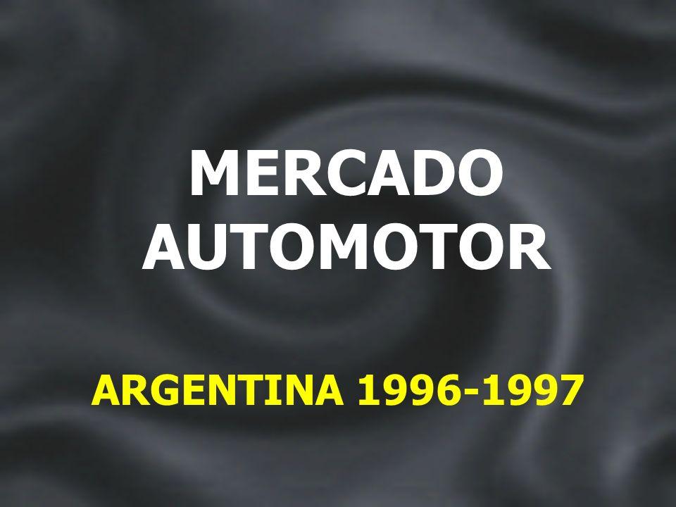 INGRESOS MAYORES A $700 ARGENTINA 1996 - 1997