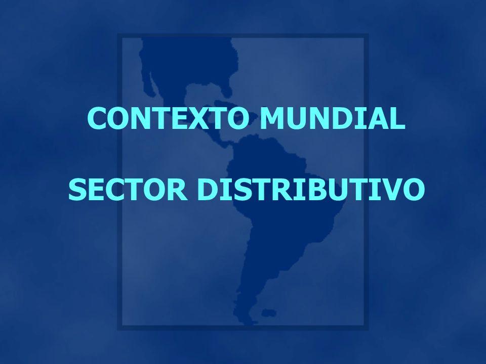 CONTEXTO MUNDIAL SECTOR DISTRIBUTIVO