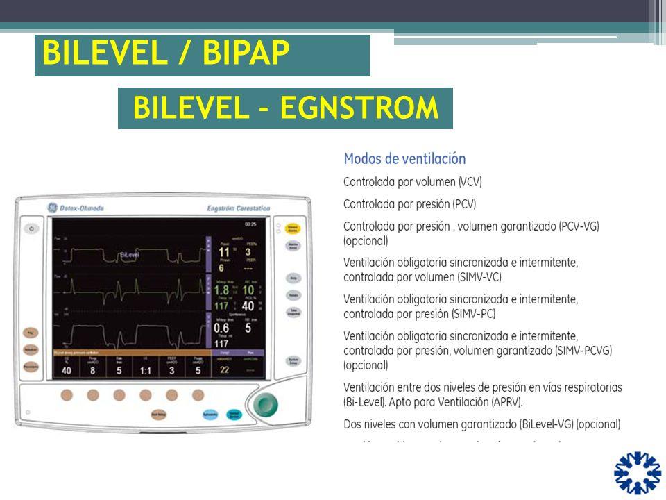 BILEVEL / BIPAP BILEVEL - EGNSTROM