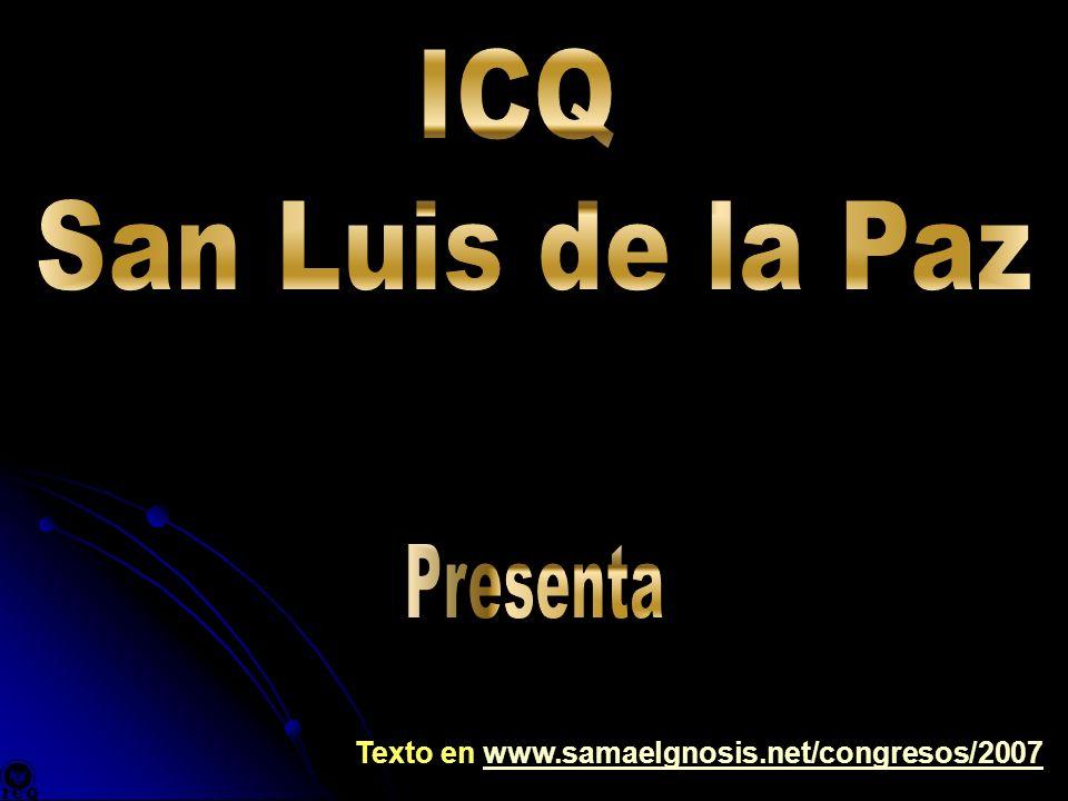 Texto en www.samaelgnosis.net/congresos/2007www.samaelgnosis.net/congresos/2007