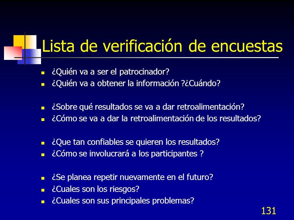 132 Plan de colección de datos El Formato debe contener: ¿Qué se necesita conocer.
