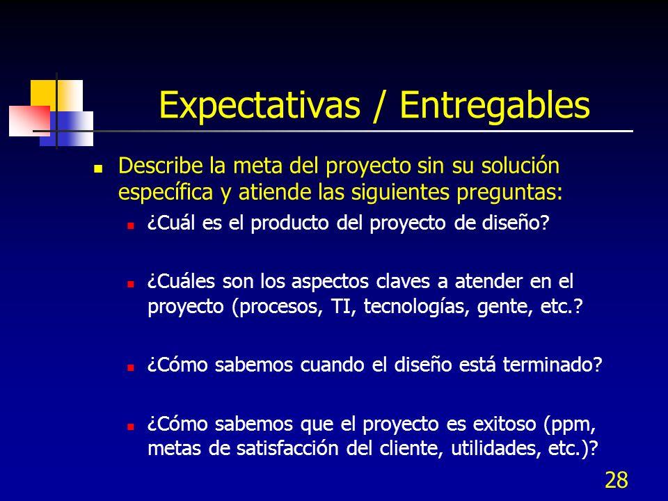 29 Alcance Describe las fronteras del proyecto y atiende las siguientes preguntas: ¿Cuáles son los puntos de inicio y fin.