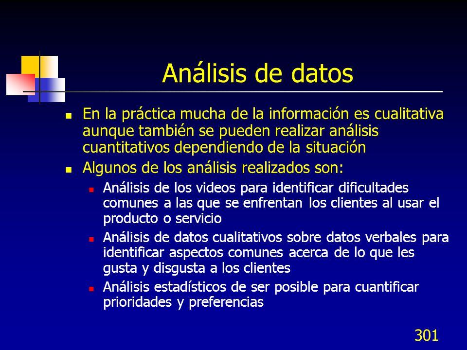 302 Planes de acción Con base en los resultados del análisis de datos contestar las siguientes preguntas: ¿Hay un concepto claramente preferido.