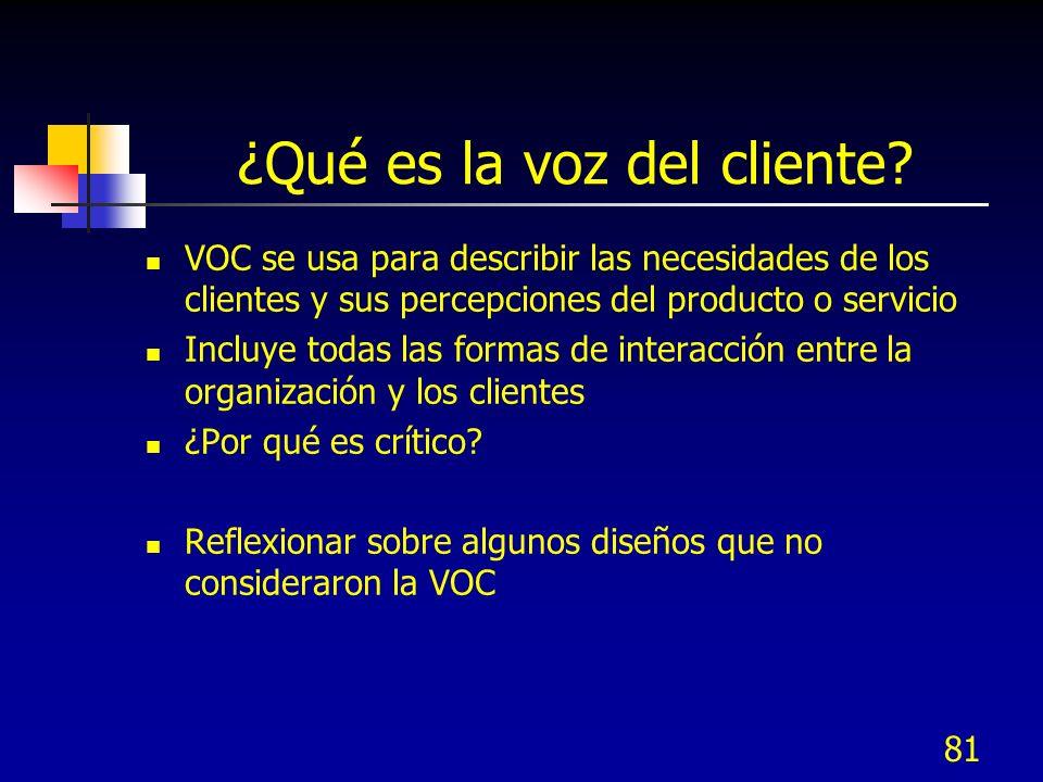 82 2.2 Traducir necesida- des VOC a requerims.KQCs 2.2 Traducir necesida- des VOC a requerims.