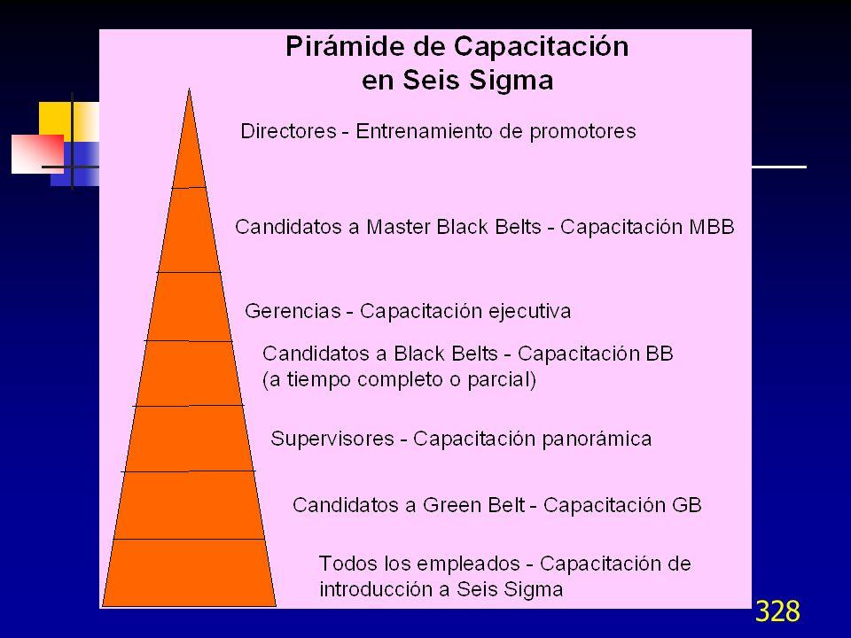 327 Organización para Seis Sigma