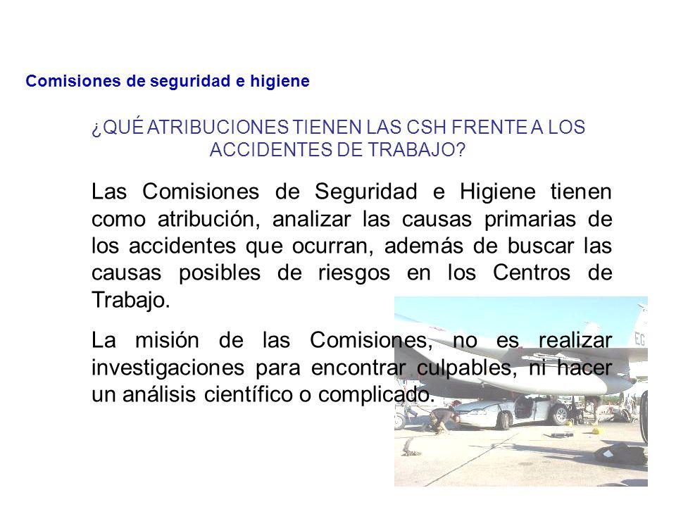 INCUMPLIMIENTO DE REGLAMENTOS, NORMAS Y PROCEDIMIENTOS DE SEGURIDAD E HIGIENE.