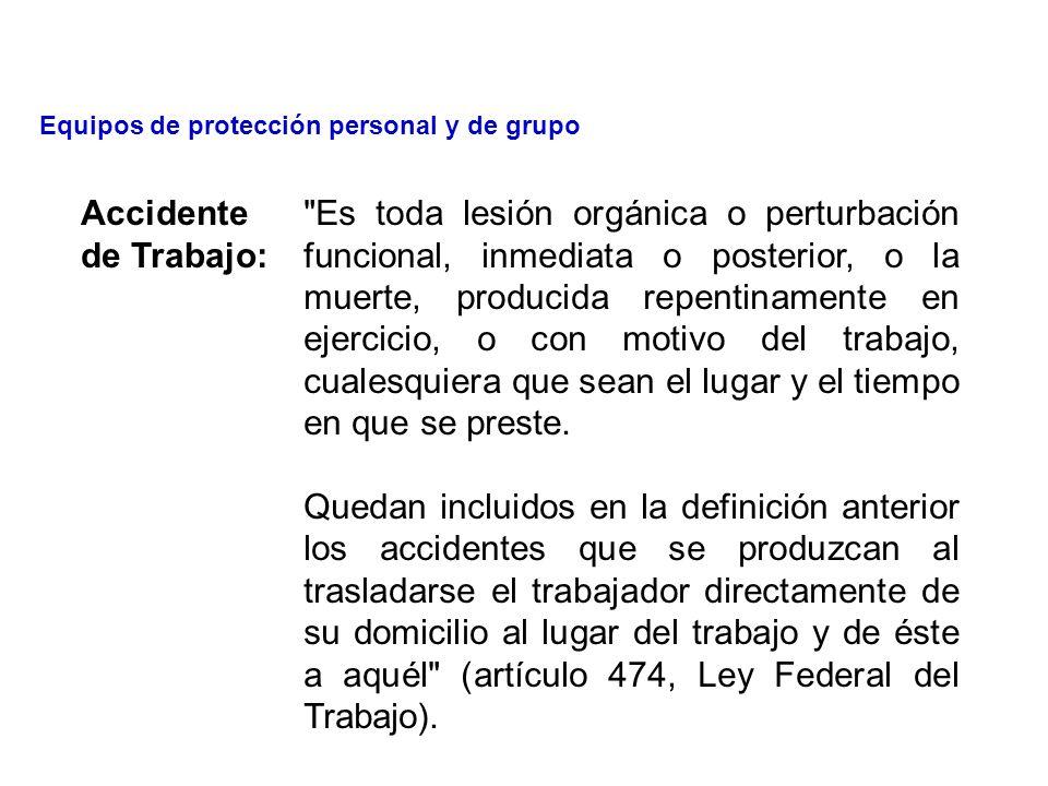 TEMA 4.- Equipos de protección personal y de grupo