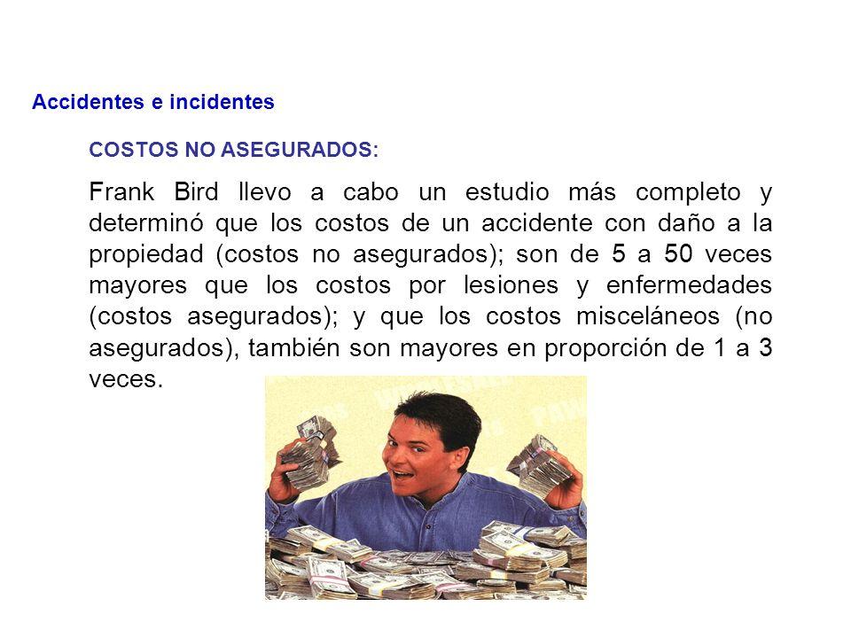 Los accidentes sufridos por los trabajadores tienen un costo elevado, no solo para la empresa, sino también para el trabajador y su familia.