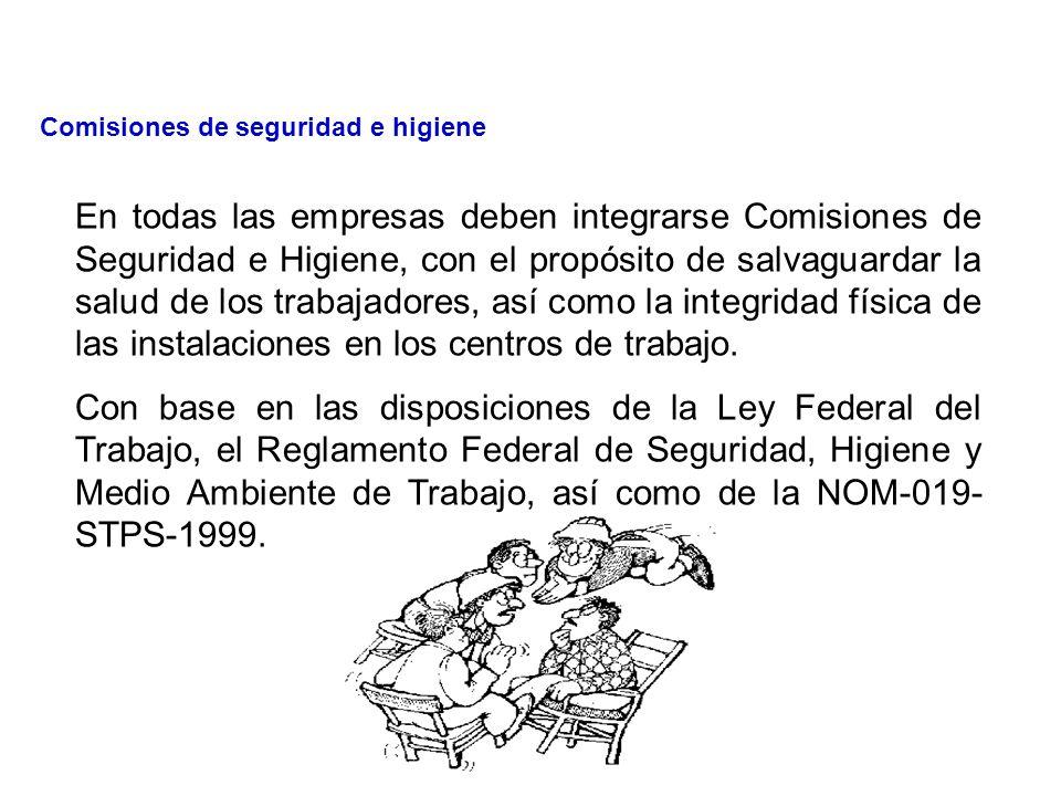 TEMA 6.- Comisiones de seguridad e higiene