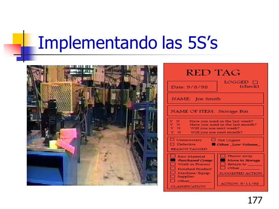 177 Implementando las 5Ss