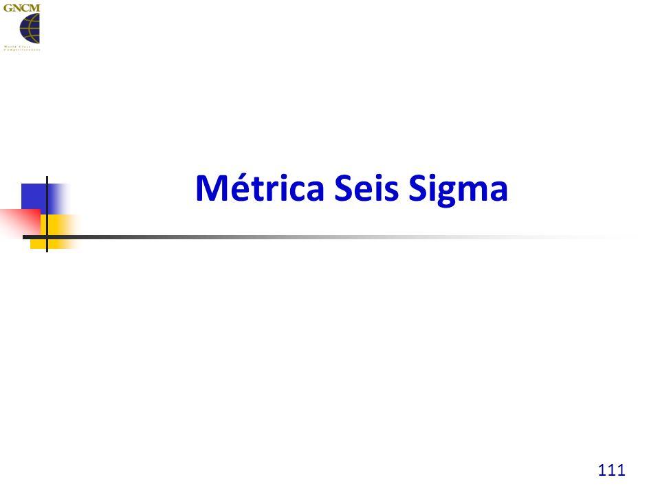 Métrica Seis Sigma 111
