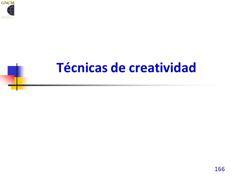 Técnicas de creatividad 166
