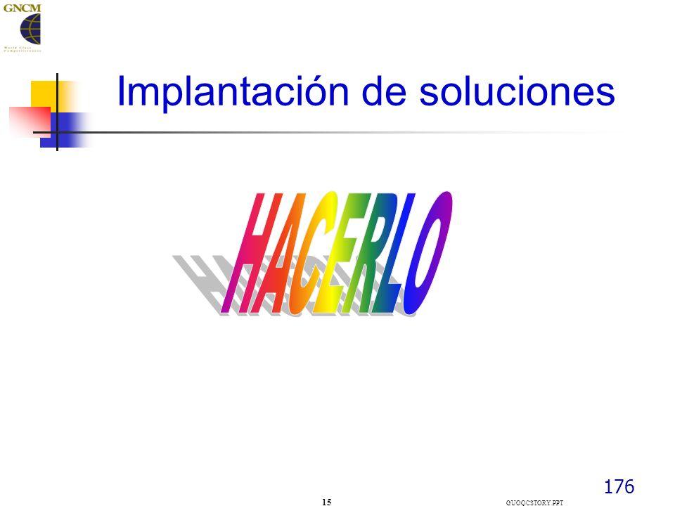 176 Implantación de soluciones 15 GUOQCSTORY.PPT