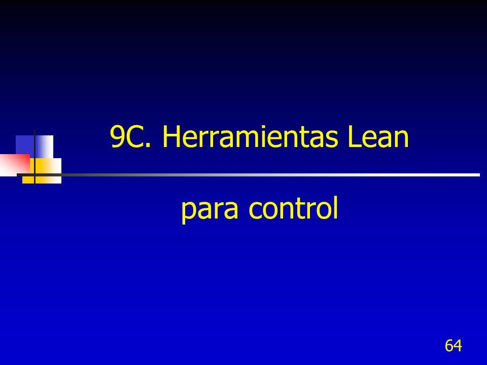 64 9C. Herramientas Lean para control