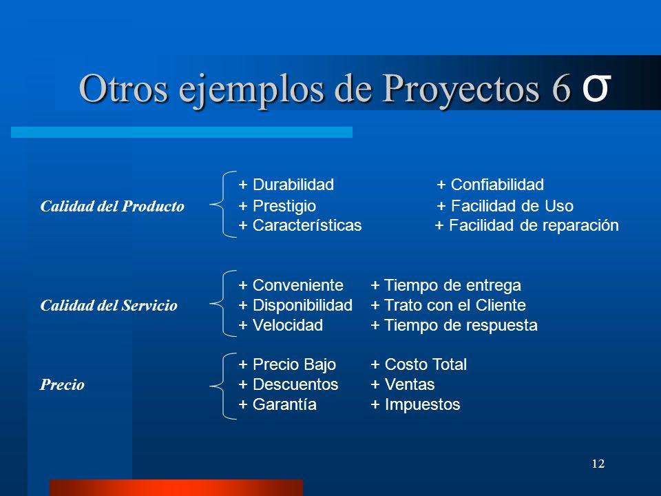 12 + Durabilidad+ Confiabilidad Calidad del Producto + Prestigio+ Facilidad de Uso + Características + Facilidad de reparación + Conveniente+ Tiempo d