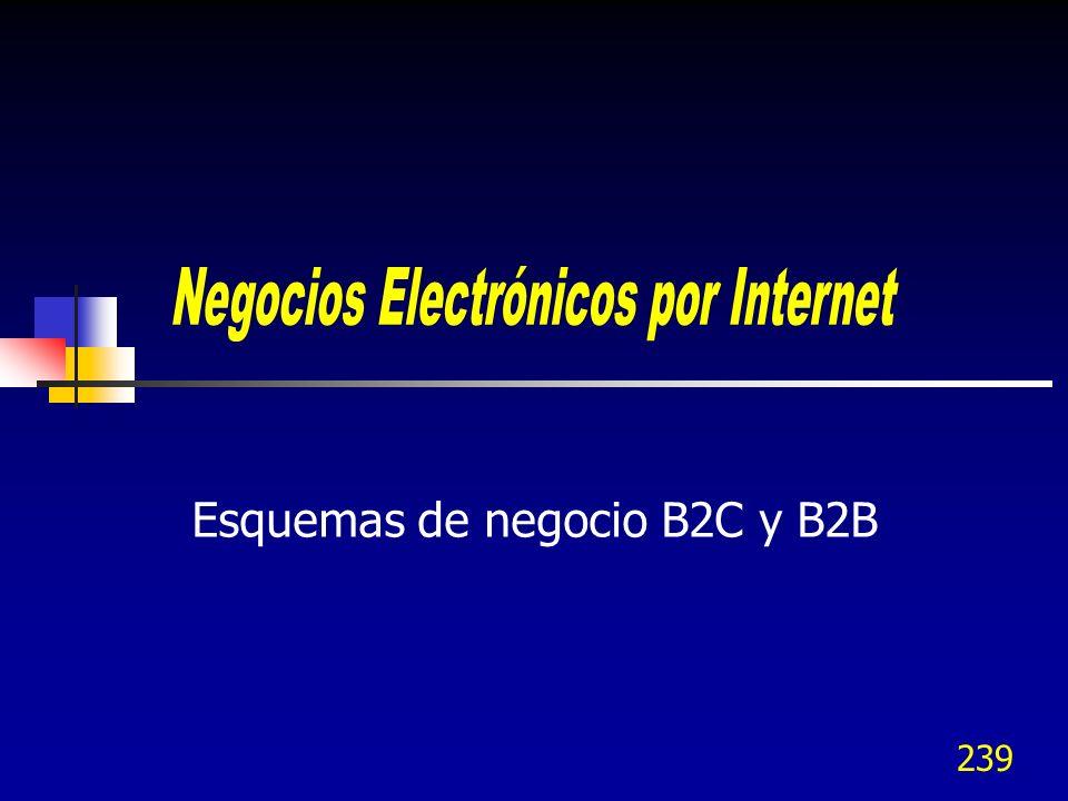 239 Esquemas de negocio B2C y B2B