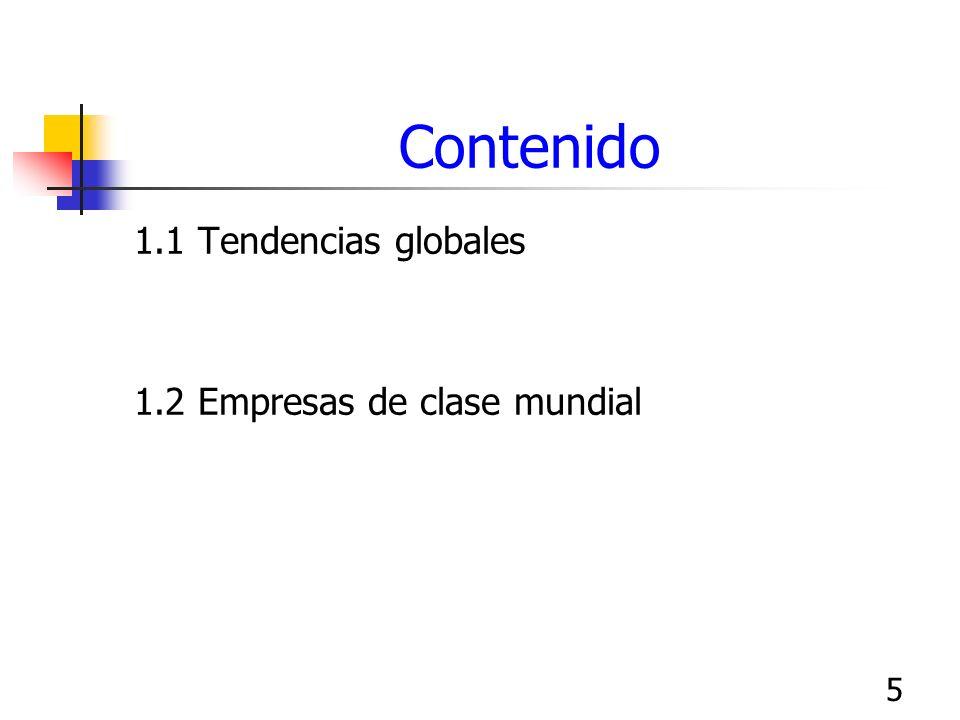 6 Tendencias globales TLC, UE, Israel, Cuenca Pacífico, Chile, etc..