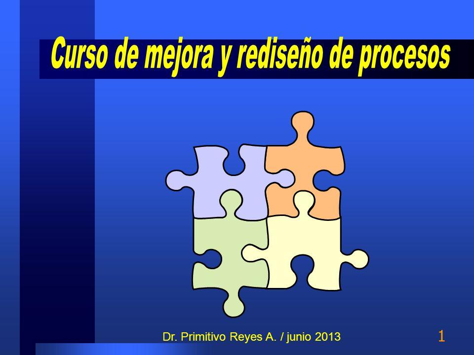 1 Dr. Primitivo Reyes A. / junio 2013