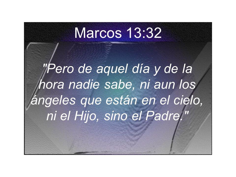 Marcos 13:32