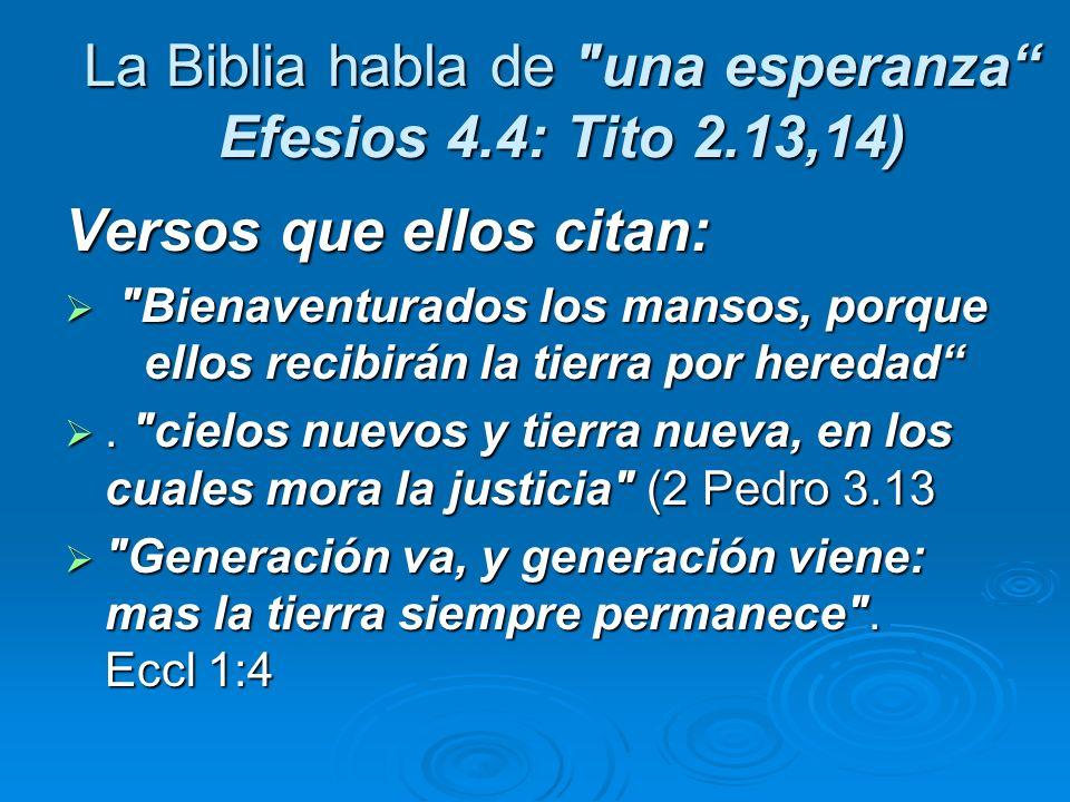 La Biblia habla de