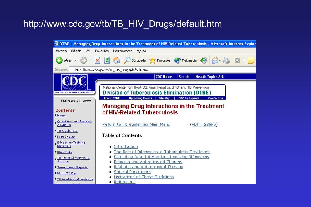 http://www.cdc.gov/tb/TB_HIV_Drugs/default.htm