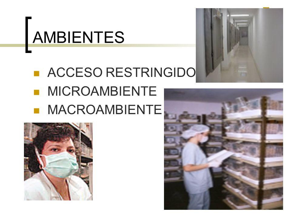 MATERIALES E INSUMOS Cada área debe contar con materiales de limpieza exclusivos y no deben de ser trasladados a otras, para evitar contaminación entre áreas.
