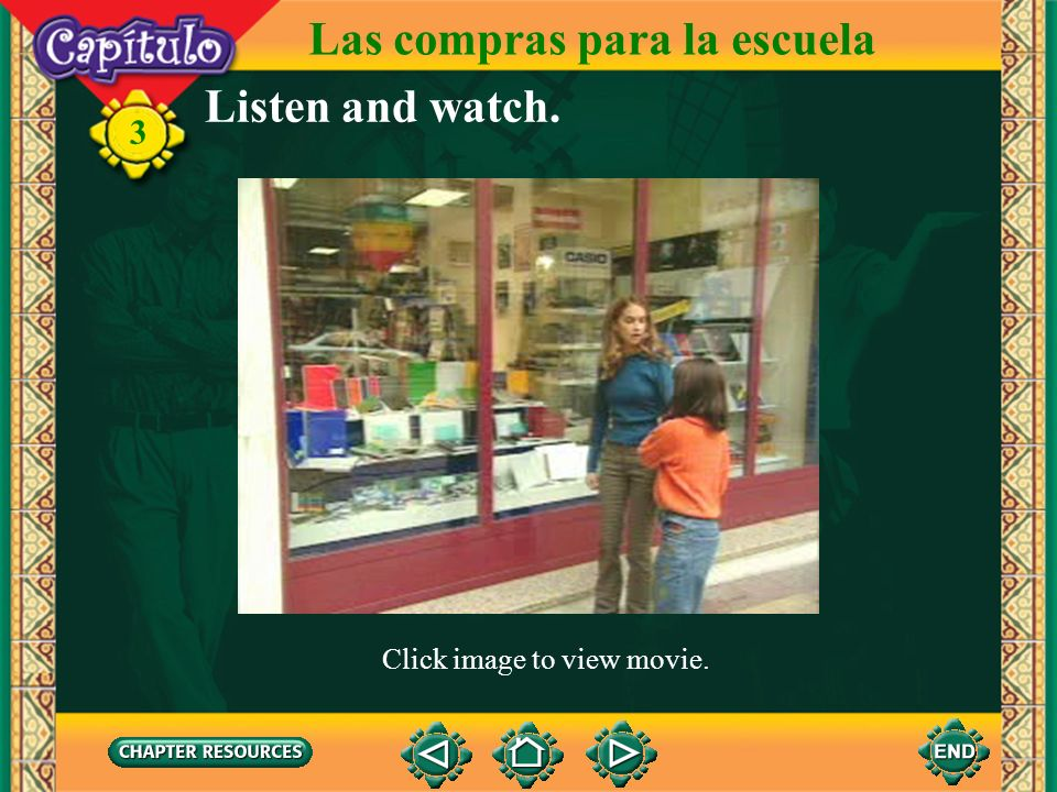 3 Choose. 1. Señor, ¿___ español? a. habla usted b. hablas a. necesitas b. necesita usted 2. Amiga, ¿___ un lápiz? 3. Profesora, ¿___ el libro? a. bus
