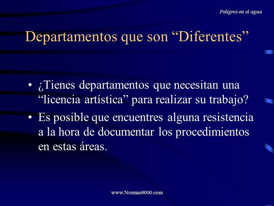 www.Normas9000.com Documentación Recuerda que el objetivo es la consistencia de tus procesos Si dos empleados realizarán la misma tarea, ¿la harán de