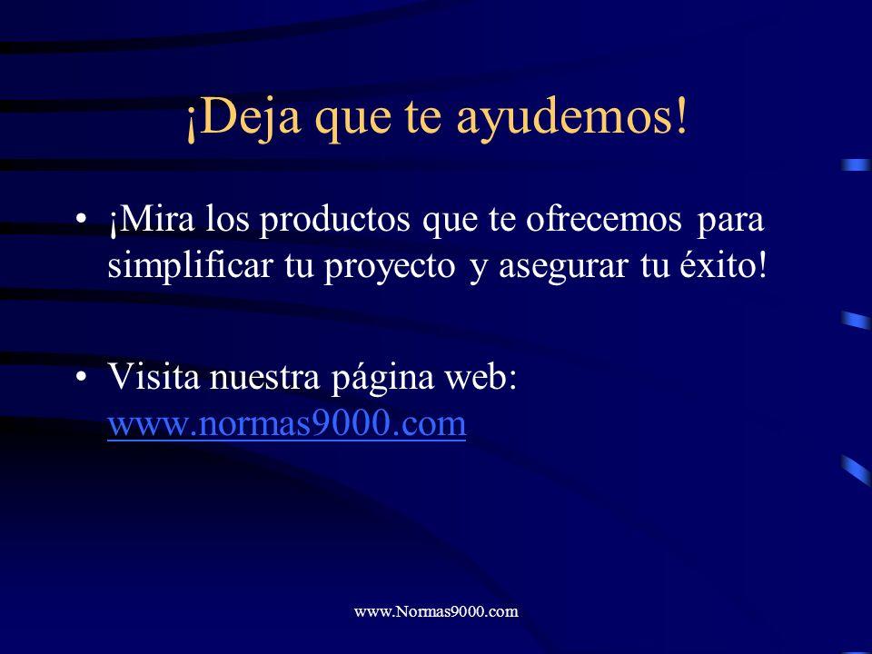 www.Normas9000.com ¡Disfruta tu éxito!