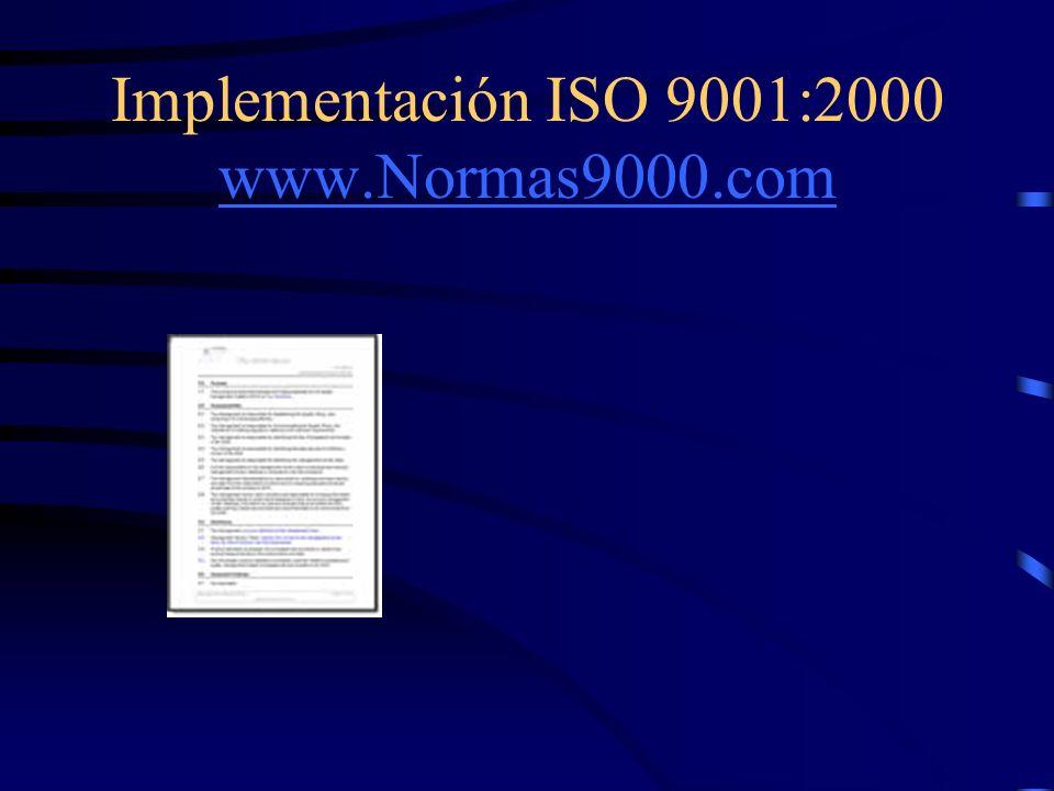 www.Normas9000.com ¡Deja que te ayudemos! ¡Mira los productos que te ofrecemos para simplificar tu proyecto y asegurar tu éxito! Visita nuestra página