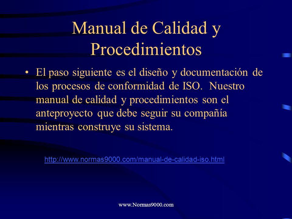 www.Normas9000.com Cuaderno de Trabajo La plantilla le ayudará a asignar responsabilidad para diseñar las piezas del sistema de gestión de calidad ISO