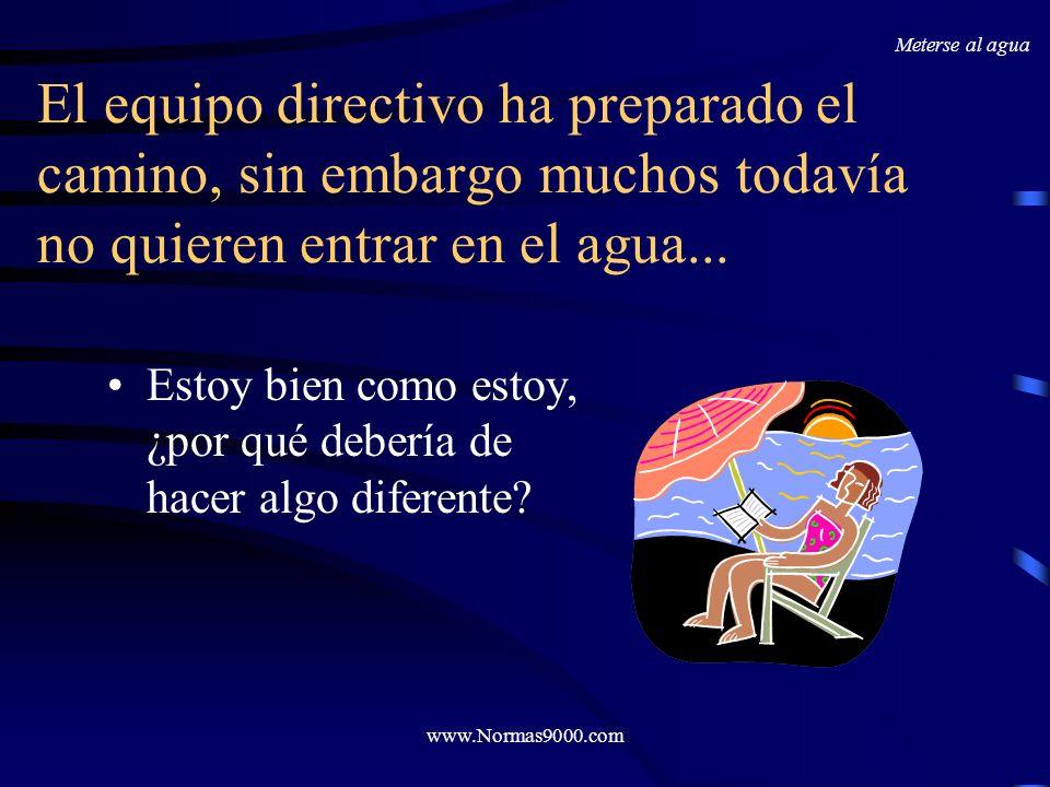 www.Normas9000.com...o en Procedimientos pobremente escritos ¿Porque utilizar diez palabras si con una ya es suficiente.