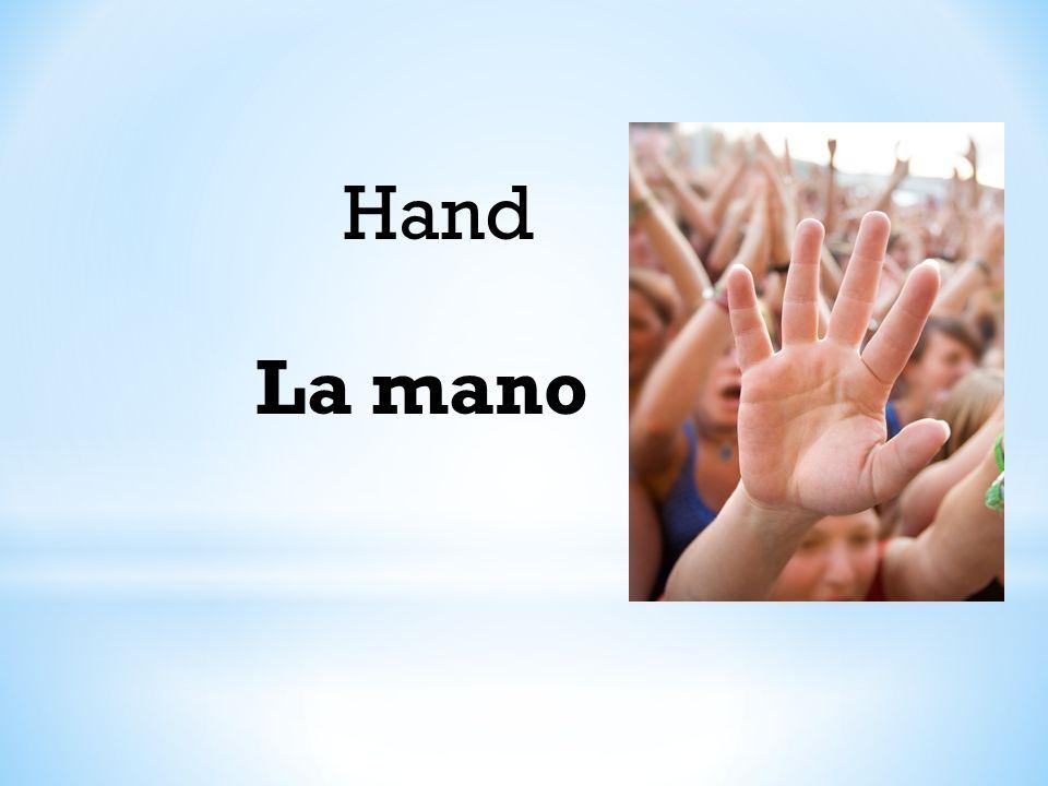 Hand La mano