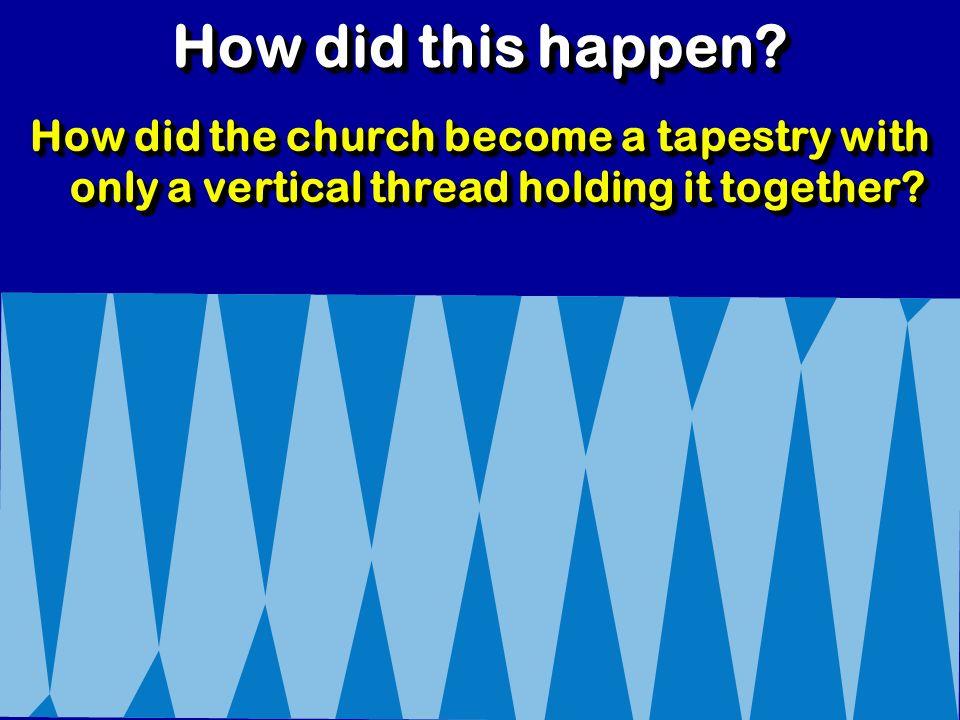 ¿Qué piensas sobre la idea de que las células sean la base de la iglesia? REFLEXIÓN ¿Cómo crees que tu iglesia responsaría a este desafío?