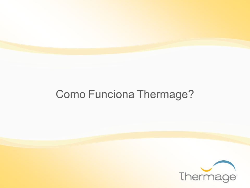 Músculo Capa de piel Bandas de Colágeno El Thermage es una técnica revolucionaria de aplicación de Radio Frecuencia en las capas profundas de la piel