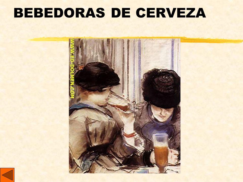 BEBEDORAS DE CERVEZA