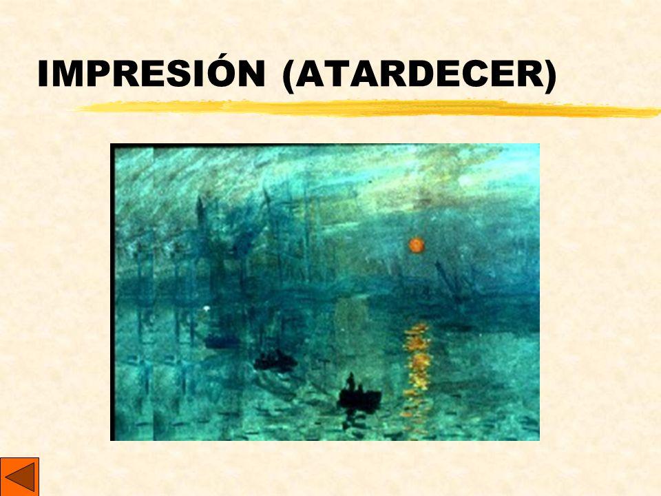 IMPRESIÓN (ATARDECER)