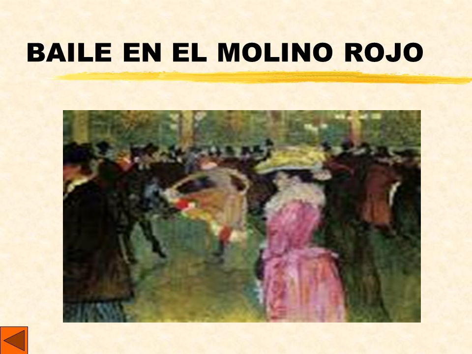 BAILE EN EL MOLINO ROJO