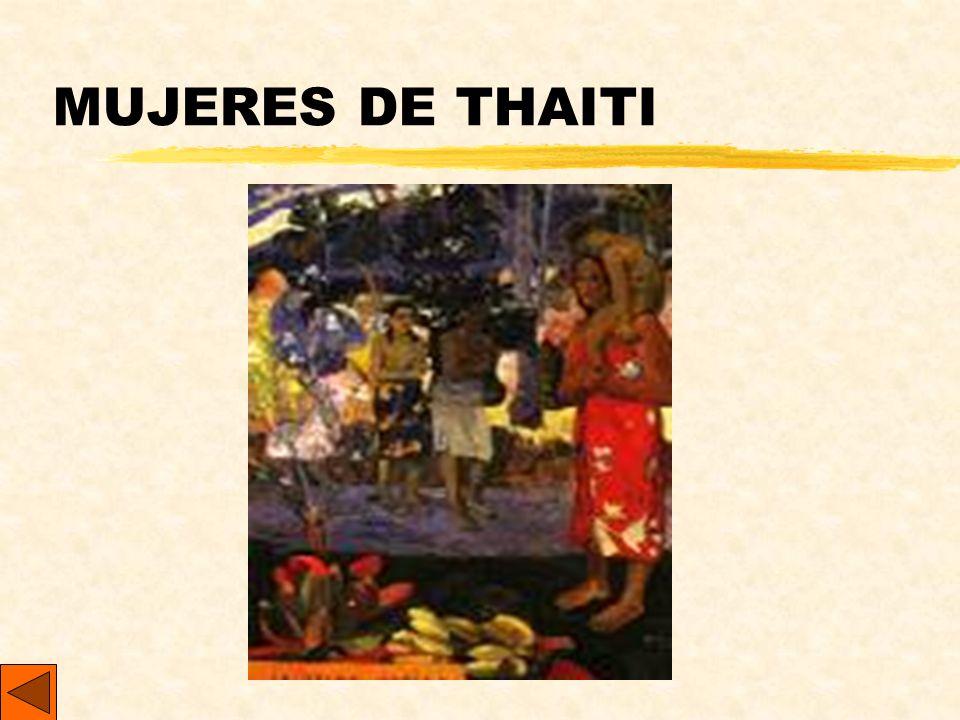 MUJERES DE THAITI